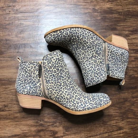 21e7e530dffa Lucky Brand Shoes - Lucky Brand Cheetah Booties